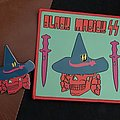 Black Magick SS pin and patch