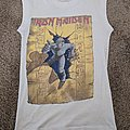 Iron Maiden Powerslave 1985 sleeveless tour shirt