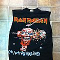 Iron Maiden shirt with cut arms