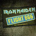 Iron Maiden - Flight 666 Patch