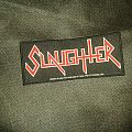 Slaughter - Red Logo Patch