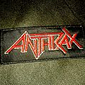 Anthrax - Logo Patch