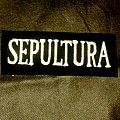 Sepultura - White Logo Patch