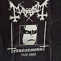 Mayhem - TShirt or Longsleeve - T-shirt Mayhem- XL