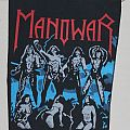 Manowar - Fighting the World Backpatch
