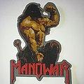 Manowar - Agony & Ecstasy Shape Patch
