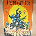 The Exploited - Patch - The Exploited - The Massacre , official 1990 Backpatch