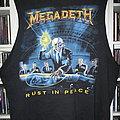 rust in peace shirt