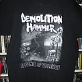 Demolition Hammer Tour Shirt 2017