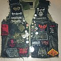 Merciless Death - Battle Jacket - Vest and my IRON DOG