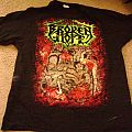 Broken Hope full color 'Bowels...' XL 2-sided T-shirt NEW!