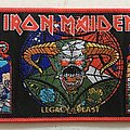 Iron Maiden 'Legacy of the Beast tour' rectangular patch