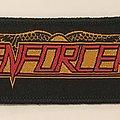 Enforcer logo patch