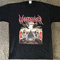 Warbringer 'Woe to the Vanquished' tour 2017 t-shirt