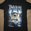 Trivium 'Silence in the Snow' UK tour t-shirt