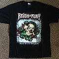 Reign of Fury 'Death Be Thy Shepherd' tour t-shirt