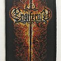Ensiferum 'Flaming Sword' woven patch
