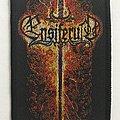 Ensiferum 'Flaming Sword' woven patch