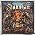 Sabaton 'Carolus Rex' woven patch
