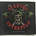 Avenged Sevenfold woven patch