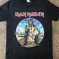 Iron Maiden 'Legacy of the Beast' tour UK shirt