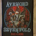 Avenged Sevenfold - Patch - Avenged Sevenfold 'Hail to the King' patch