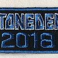 Stonedeaf Festival 2018 logo patch