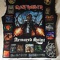 Iron Maiden - Battle Jacket - The Clairvoyant's black battle jacket UPDATE 25 May 15