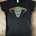 Iron Maiden 'LOTB' tour sparkly Demon Eddie girlie shirt