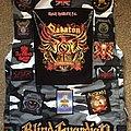 Sabaton - Battle Jacket - The Clairvoyant's grey camouflage battle jacket - post-Bloodstock update