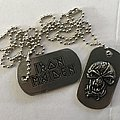 Iron Maiden 'The Final Frontier' dog tags Other Collectable