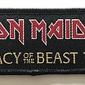 Iron Maiden 'Legacy of the Beast' tour patch