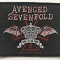 Avenged Sevenfold - Patch - Avenged Sevenfold 'Hail to the King' woven patch