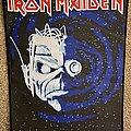 Iron Maiden - Patch - Iron Maiden 'Wasted Years' back patch