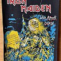Iron Maiden - Patch - Iron Maiden 'Live After Death' back patch
