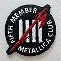 Metallica - Patch - Metallica 'Fifth Member' patch