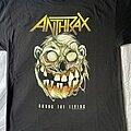 Anthrax - TShirt or Longsleeve - Anthrax 'Zombie Not Man' t-shirt