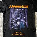 Annihilator - TShirt or Longsleeve - Annihilator 'Never, Neverland' t-shirt