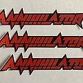 Annihilator - Other Collectable - Annihilator stickers