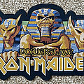 Iron Maiden - Patch - Iron Maiden 'Powerslave' back patch