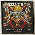 Megadeth - Patch - Megadeth 'Killing is my Business' patch