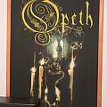 Opeth GHOST REVERIES framed fabric poster