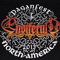 Ensiferum - TShirt or Longsleeve - PAGANFEST IV Shirt (North America—Ensiferum, Tyr, Heidevolk, Trollfest,...