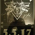 Goatwhore Signed show poster Other Collectable