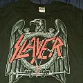 Slayer 2010 tour short sleeve  TShirt or Longsleeve