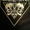 Goatwhore 2 skulls embroidered patch