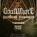 Goatwhore event flyer Other Collectable
