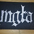 Mgla embroidered logo patch