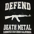 Carnifex Defend Death metal shirt