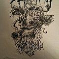 Nekrofilth Wormskull 2015 tour shirt